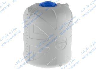 مخزن 2000 لیتری عمودی 3 لایه بارز قطران- بارزپلاستیک