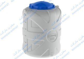 مخزن 300 لیتری عمودی 3 لایه بارز قطران- بارزپلاستیک