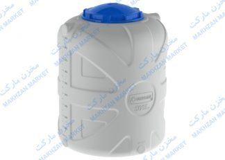 مخزن 500 لیتری عمودی 3 لایه بارز قطران- بارزپلاستیک