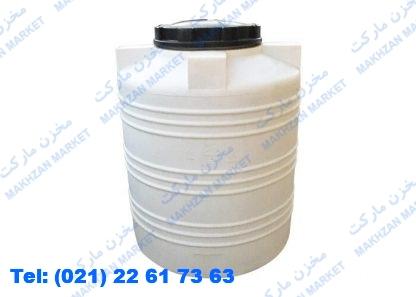 مخزن 500 لیتری عمودی دماوند پلیمر ( مخزن ایستاده )