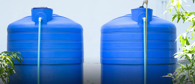منبع آب مناسب ساختمان